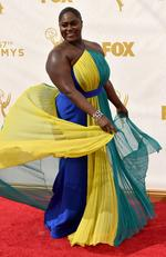 Danielle Brooks attends the 67th Annual Primetime Emmy Awards in Los Angeles. Picture: Getty