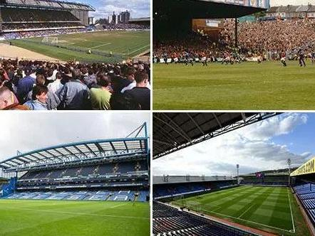 Premier League stadiums have changed over the last 25 years.