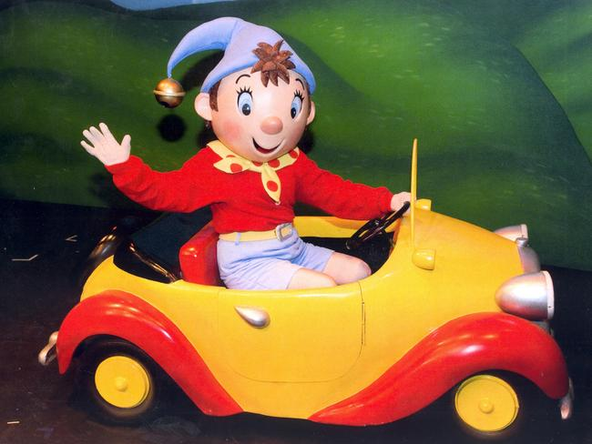Cut ... Noddy was axed for sleeping in the same bed as Big Ears. Pic. Supplied Pic. Supplied