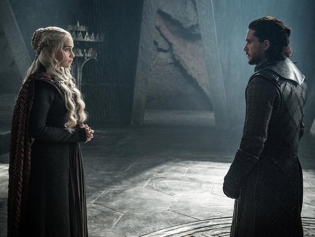 And this romance leave us as cold as the Westeros weather. Picture: Helen Sloan/Courtesy of HBO via AP
