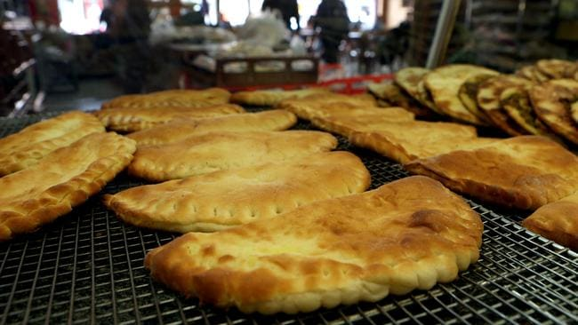 Not only tasty, but the cheese pies are cheap at A1 Bakery in Brunswick.