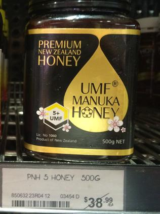 Honey reaches almost $40 at Thomas Dux.