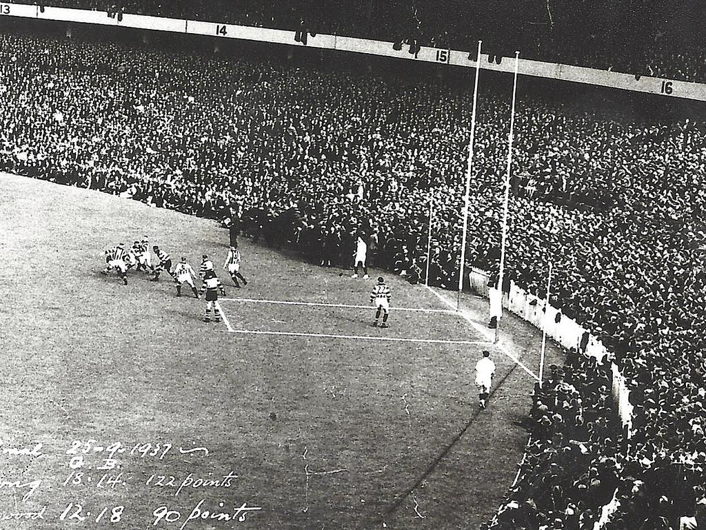 Image result for 1937 VFL Grand Final