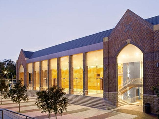 Private schools new building works at Knox Grammar. Picture: Supplied