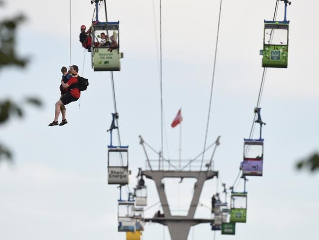 Cologne Cable Car Accident