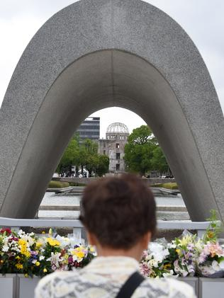 The Peace Memorial Park in Hiroshima.
