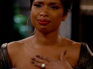 Jennifer Hudson is shocked by Judah's reaction.