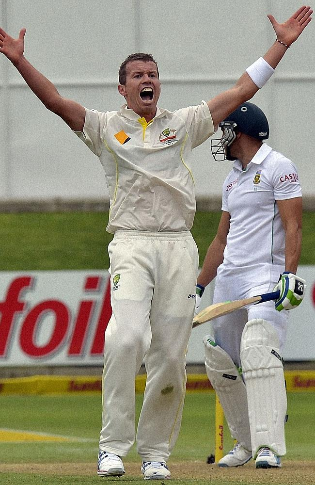 Peter Siddle picked up just five wickets over the first two Tests of the series.