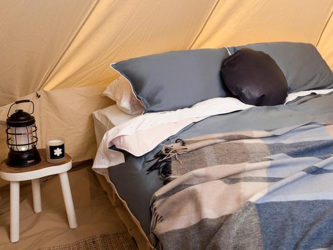"60 guests will experience ""glamping"" at its best."