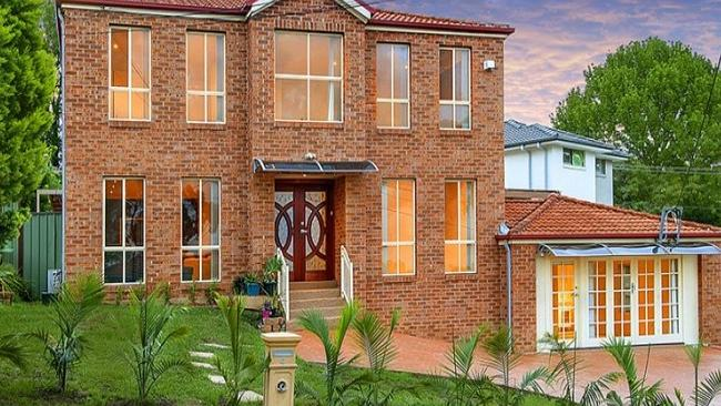 A six-bedroom home listed for sale in Blacktown, New South Wales, one of the state's extr