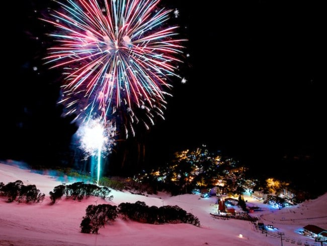 The Night Show Spectacular at Falls Creek finishes off with an amazing fireworks display.