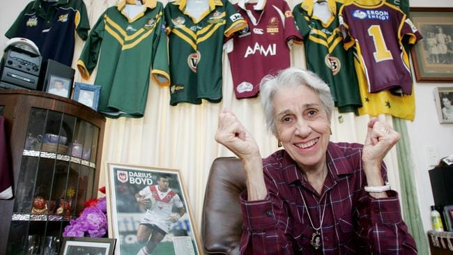 Proud Grandmother: Darius Boyd's nan, Delphine Boyd