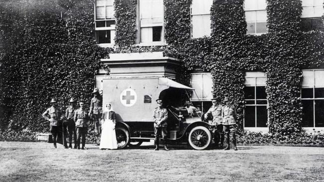 Safe haven ... Harefield was home to thousands of Australian soldiers during the war years.