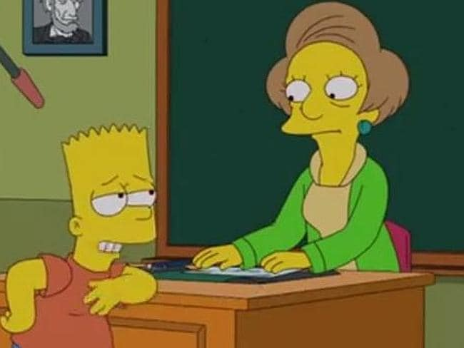 Simpsons bid farewell to beloved character
