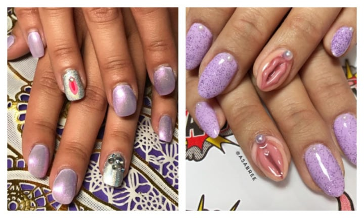 Vagina nails are the NSFW manicure trend we definitely don't need