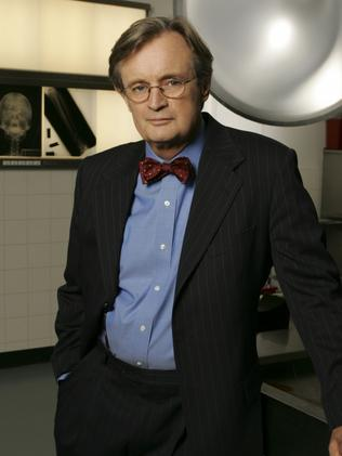McCallum worked with a coroner so he could feel comfortable playing Ducky on NCIS. Picture: Channel Ten.