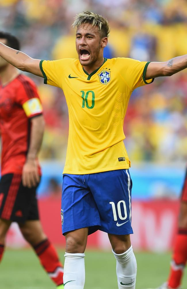 Brazil's star forward, Neymar, sums up his side's performance against Mexico at the World Cup.