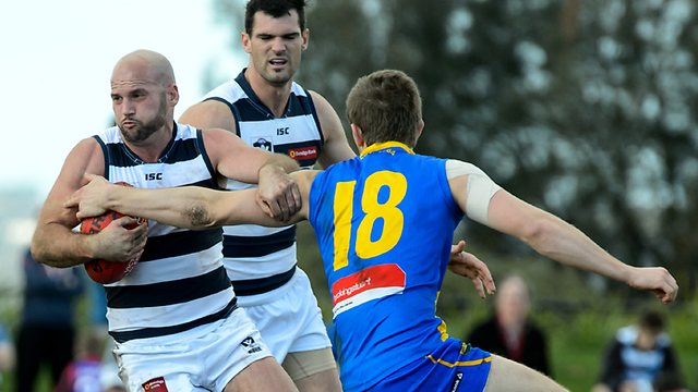 Geelong veteran Paul Chapman is close to a senior recall after three weeks at VFL level. Picture: Jay Town