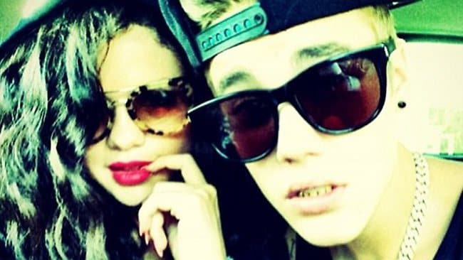Day dream beliebers: Selena and Justin in the latest Instagram pic. Picture: Justin Bieber/Instagram