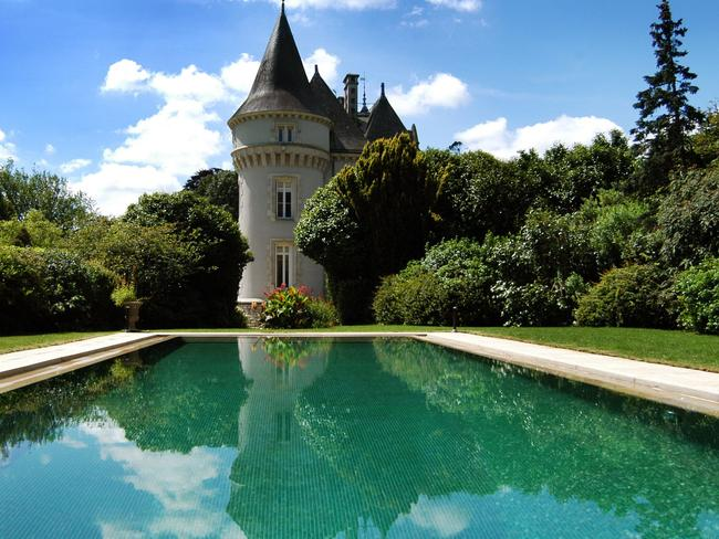 This home in France looks more like a castle ...
