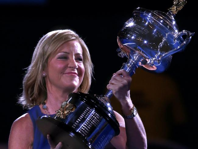 Chris Evert, pictured, says Stosur has an all-round versatile game.