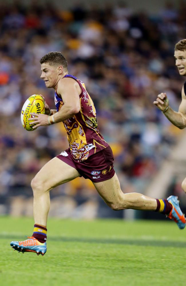 Zorko booted two important goals. Picture: Mark Calleja