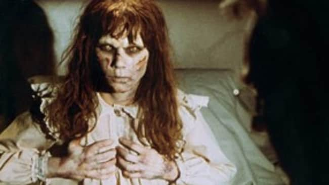 The head turn in the Exorcist is actually a sound effect made by a wallet.