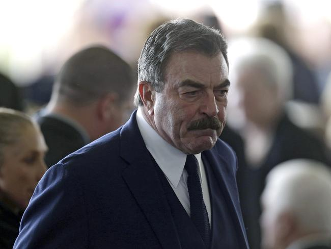 Actor Tom Selleck of Magnum PI fame was also in attendance.
