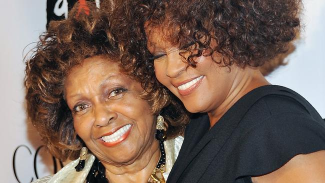Cissy Houston and daughter Whitney arrive at the Keep A Child Alive Black Ball in New York in 2010.