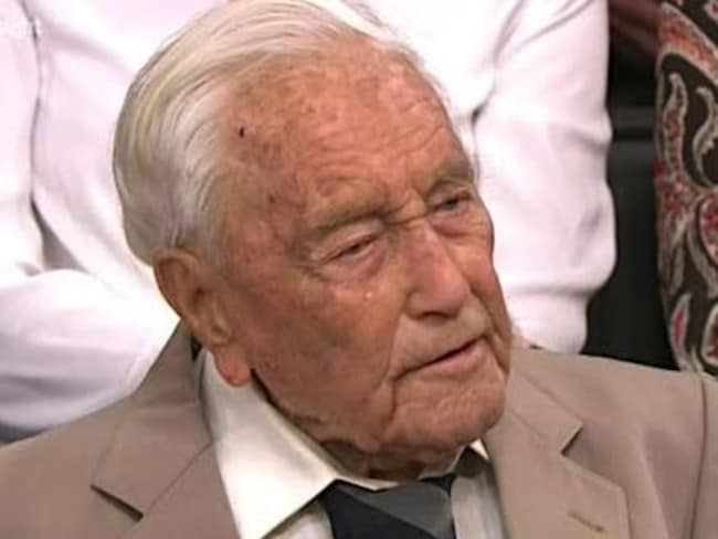 Dr David Goodall is still working at the age of 103.