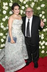 Lucy DeVito and Danny DeVito attend the 2017 Tony Awards at Radio City Music Hall on June 11, 2017 in New York City. Picture: Jemal Countess/Getty Images for Tony Awards Productions