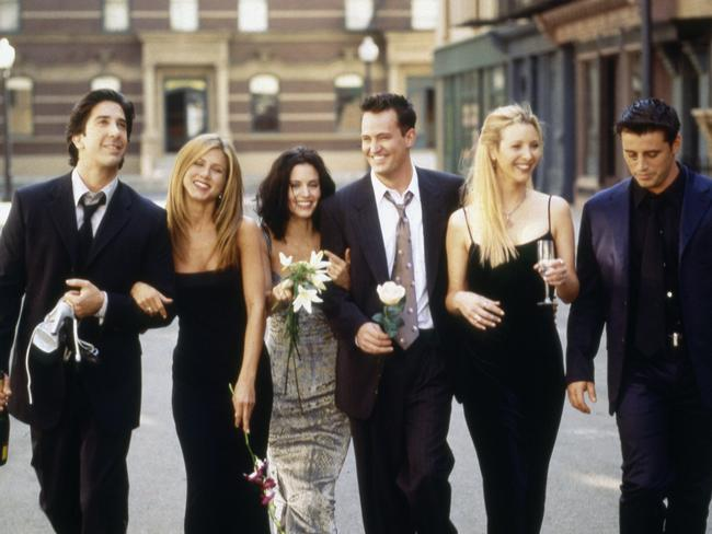 <i>Friends</i> provided the roles of a lifetime for the show's six stars. Photo: NBC/NBCU Photo Bank