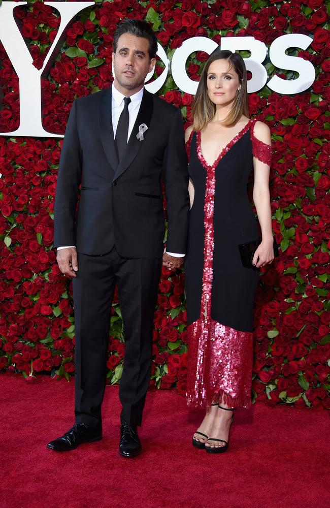 Bobby Cannavale and Rose Byrne attend the 70th Annual Tony Awards.