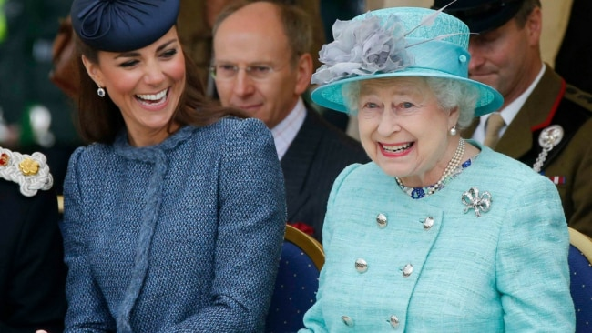The Queen approves. Photo: Getty