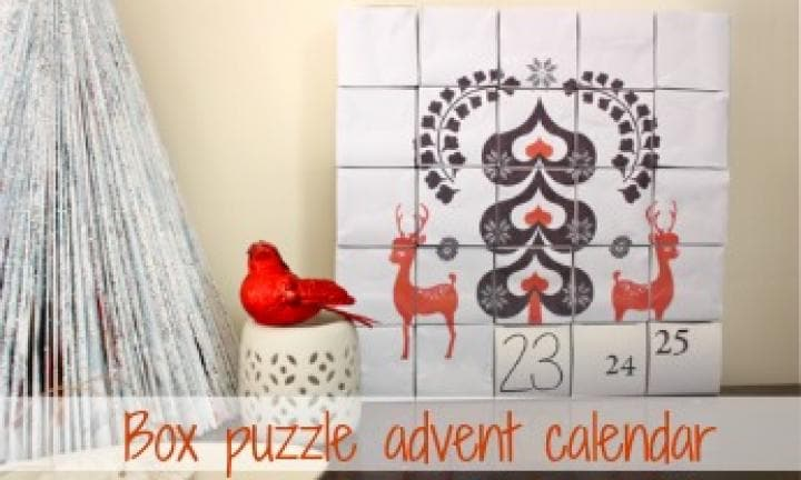 Block puzzle advent calendar