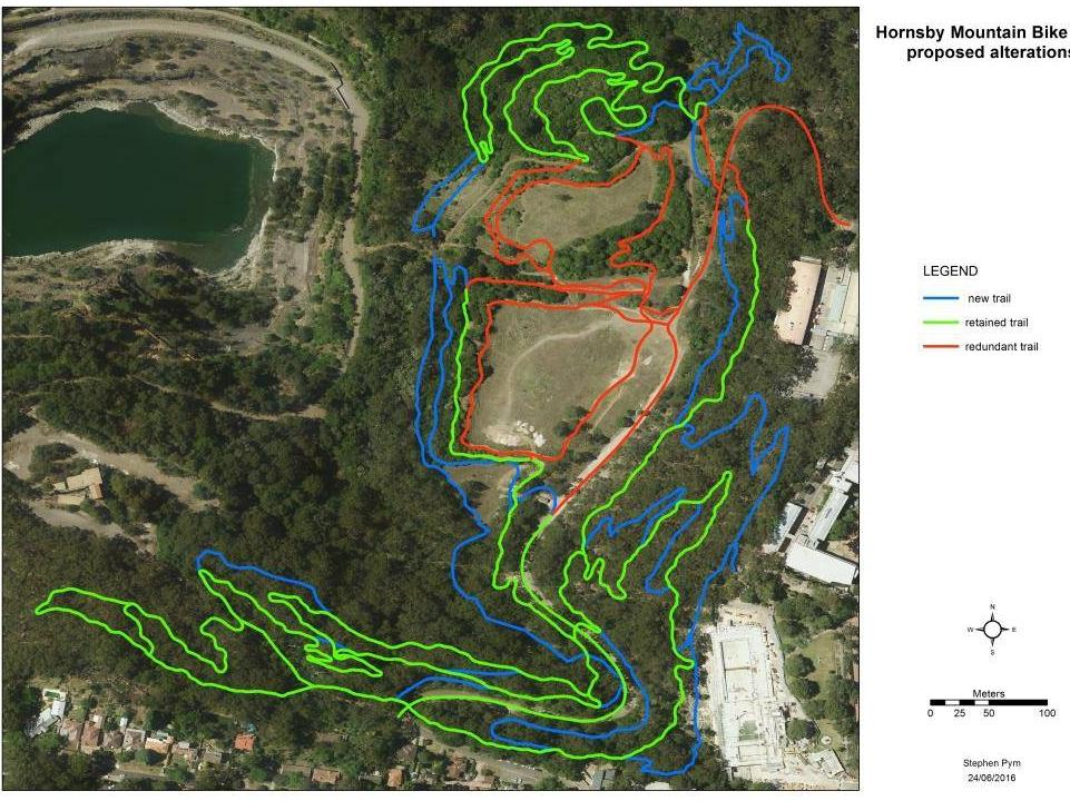 Hornsby Mountain bike trail will open with new tracks in