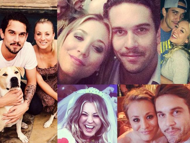The Big Bang Theory's leading lady Kaley Cuoco is moving on after her failed marriage to Ryan Sweeting. Picture: Instagram