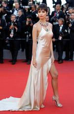"Emily Ratajkowski attends the ""Ismael's Ghosts (Les Fantomes d'Ismael)"" screening and Opening Gala during the 70th annual Cannes Film Festival at Palais des Festivals on May 17, 2017 in Cannes, France. Picture: Getty"