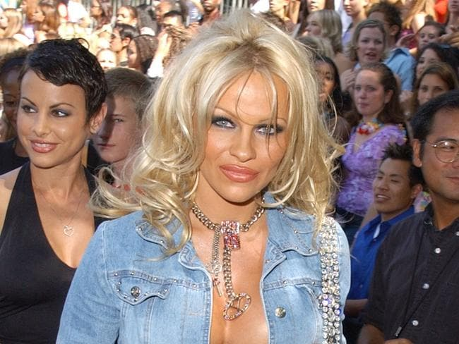 Pamela Anderson said her image makes her the right person to speak to young women about not getting themselves into dangerous situations. Picture: SGranitz/WireImage.