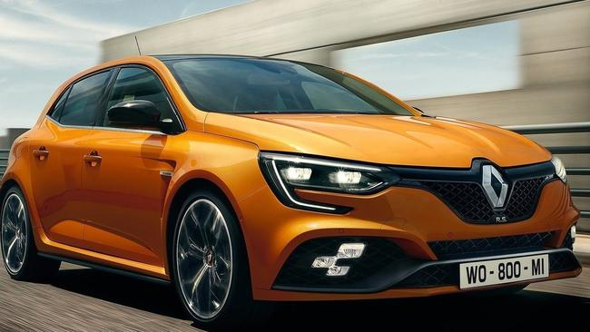 The 2018 Renault Megane RS. Picture: Supplied.