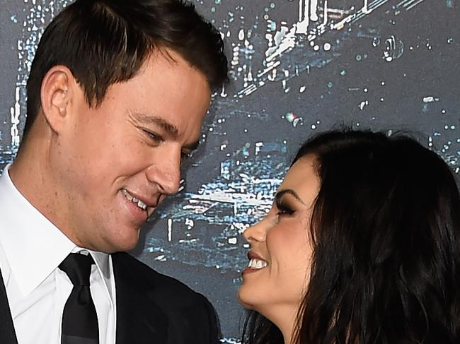 Channing's wife gets candid about sex