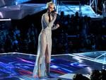 Katy Perry speaks onstage during the 2017 MTV Video Music Awards at The Forum on August 27, 2017 in Inglewood, California. Picture: Getty