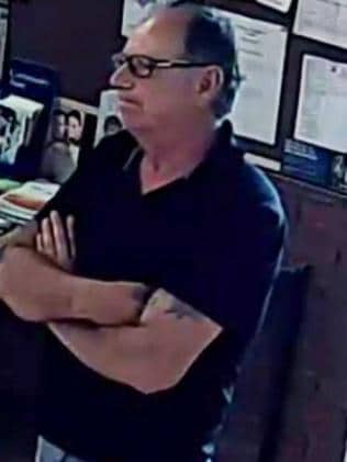 Man wanted following series of thefts from funeral services. Picture: Supplied