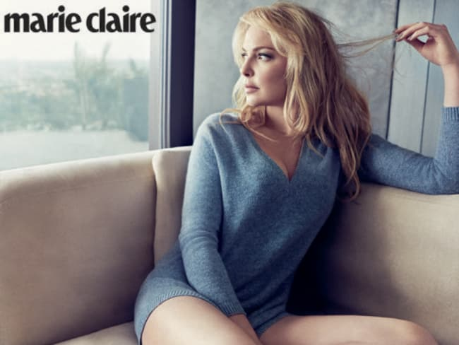 Heigl's Marie Claire shoot.