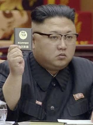North Korean leader Kim Jong Un has hit back. Picture: AP