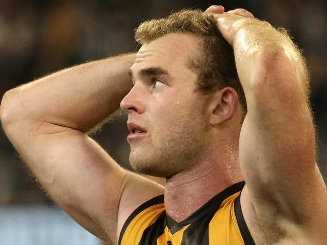 Collingwood vs. Hawthorn (MCG) (N) Tom Mitchell Picture:Wayne Ludbey