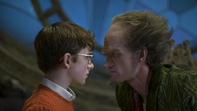 Neil Patrick Harris stars in Lemony Snicket's A Series of Unfortunate Events.