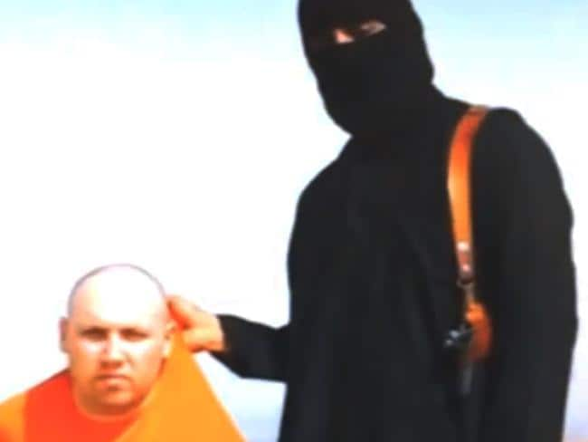 Militants warned Sotloff's killing would follow that of American journalist James Foley.