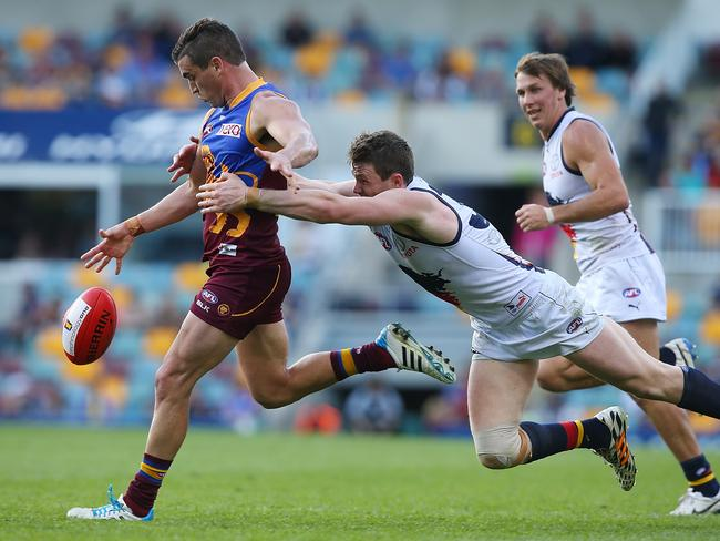 Despite Brisbane losing to Adelaide, Tom Rockliff picked up 40 disposals.