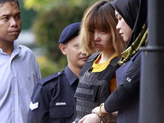 Murder suspect Doan Thi Huong. Picture: AP
